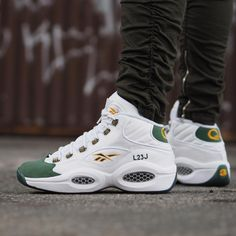 competitive price fb799 fd41a Packer Shoes x Reebok Question LeBron James