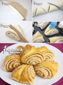Fındıklı Tarçınlı Çportakallı kurabiye örek Tarifi