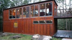 Shipping Container Home Designs and Plans Container Cabin, Container House Design, Cargo Container, Container Office, Storage Container Homes, Affordable Prefab Homes, Shipping Container Home Designs, Shipping Containers, Sea Containers