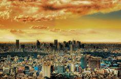 500px / Photo Tokyo dusk by mitsu miya