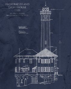 Eiffel Tower Architectural Blueprint Tour Eiffel French Decor