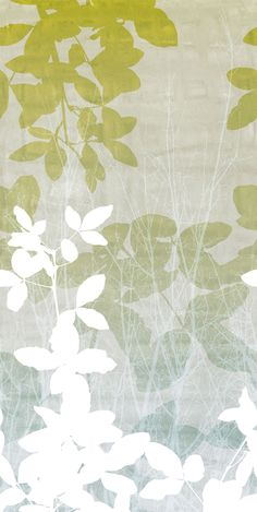 The Grove Green mural by Eco Wallpaper