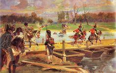 Napoleón cruza el Niemen de Jerzy Kossak Más en www.elgrancapitan.org/foro