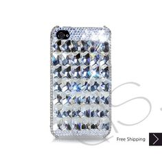 Cubical Ice Queen Bling Swarovski Crystal iPhone 5 Case