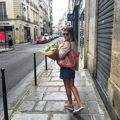 Biana from Fashion Whipped in Paris. Goyard Tote, Vintage Bags, Cool, Spring Summer Fashion, What To Wear, Personal Style, Diamonds, Street Style, Purses