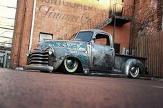 Ratrod Chevy Pickup Truck