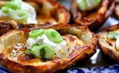 Casquinhas Crocantes de Batatas para diabéticos