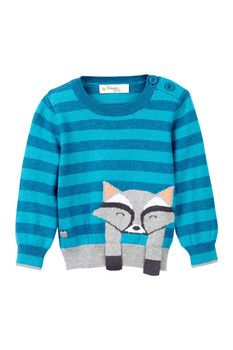 Bonnie Mob Racoon Insarsia Knit Sweater (Baby)