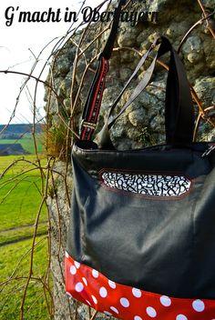 """...und die Rückseite mit Eingrifftasche vom """"Stoffschätzchen"""" http://gmachtinoberbayern.blogspot.de/2014/12/mein-ganz-personliches-stoffschatzchen.html"""