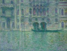 Claude Monet  Palazzo da Mula, Venice, 1908