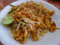 Pad Thai - simple and quick, recipe from my Thai Cooking Class in Phuket