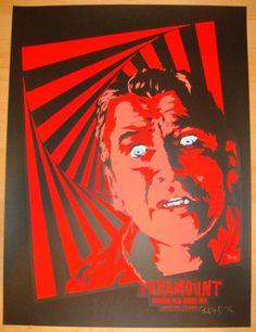 "2011 ""Vertigo"" - Silkscreen Movie Poster by Billy Perkins"