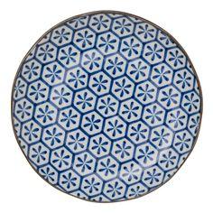 Teller Onuma, Keramik, Weiß, 25.5 cm