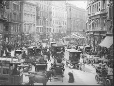 Austria. Street scene, Vienna, c. 1904