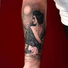 These Realism / Photorealism / Hyperrealism tattoos will inspire you. We list the best Realism / Photorealism / Hyperrealism tattoos online. Pick your Realism / Photorealism / Hyperrealism tattoo designs ideas. Full Sleeve Tattoo Design, Full Sleeve Tattoos, Sleeve Tattoos For Women, Irish Celtic Tattoos, Black Art Tattoo, Black Tattoos, Girl Tattoos, Tatoos, Japanese Girl Tattoo