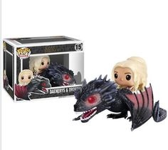 Funko pop rides game of #thrones #daenerys & drogon #15 vinyl figures #collectibl,  View more on the LINK: http://www.zeppy.io/product/gb/2/401230040124/