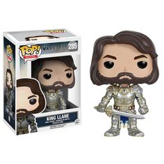 King Llane POP! Vinyl Figure by Funko - Blizzard - Warcraft