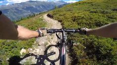 """Ride 14 on Verbier's official """"Carte VTT"""" doesn't disappoint. Over a total of…"""