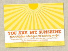 Sunshine Invite