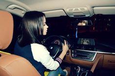 #driving girl #bmw