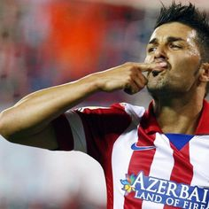 David Villa Atletico Madrid