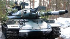JGSDF Type 74 tank. http://www.toadmanstankpictures.com/type_74_camp_iwate.htm