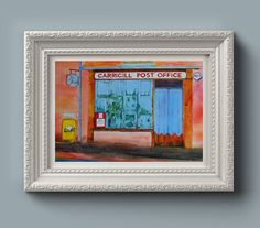 Wall Art Print: Post Office at Garrigill by EleanoreDitchburn