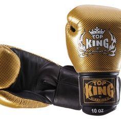 """Rękawice bokserskie Top King TKBGEM-02GD """"EMPOWER CREATIVITY"""" (black/gold)   Sklep sportowy B-FIGHT"""