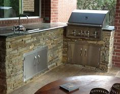 16 best stucco outdoor kitchen images on Pinterest | Outdoor cooking Vener Brick Outdoor Kitchen And Bar Ideas Html on