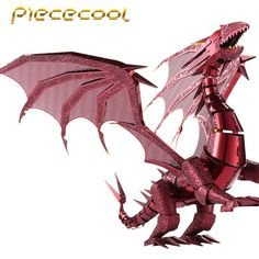 We add New Trendy items  2016 Limited Edit...  http://www.possto.com/products/2016-limited-edition-piececool-3d-metal-puzzle-dragon-flame-p071-rs-diy-3d-metal-puzzle-kits-laser-cut-models-jigsaw-toys?utm_campaign=social_autopilot&utm_source=pin&utm_medium=pin
