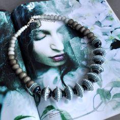 Necklace Thundercloud by DarinaViktorova on Etsy, $174.00