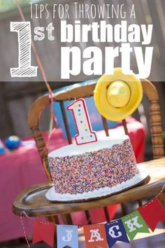 Tips for Throwing a First Birthday Party