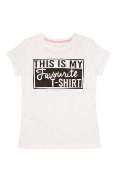 Primark - White Favourite T-Shirt
