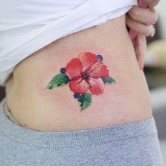 Hibiscus zihee_tattoo