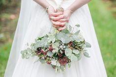 Autumn Wedding flowers #eukalyptus #silverbrunia Foto by Kathrin Hester, germany
