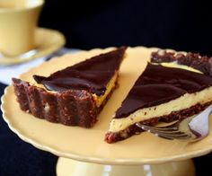 All Day I Dream About Food: Nanaimo Bar Tart (Low Carb-Sugar Free)
