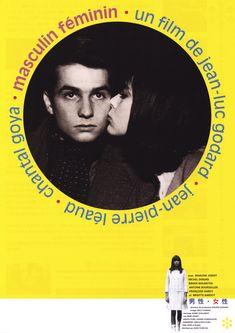 MASCULIN FEMININ - Jean-Luc Godard
