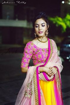 Beautiful, Colorful #Ghagra / #lehenga Ensemble
