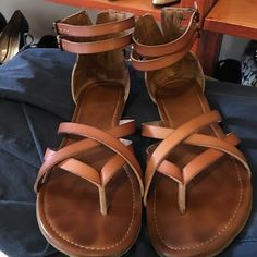 Great sandals by Aldo! Worn, but in excellent condition. ALDO Shoes Sandals