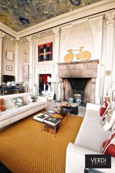 Luxurious carpets by Verdi Design.