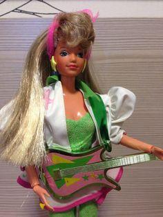 Barbie Estrela Diva Rock Star 1989 - R$ 550,00 en MercadoLibre
