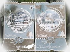 Ticket Card, Marianne Design Cards, Studio Lighting, Card Tutorials, Pretty Cards, Winter Christmas, Winter Wonderland, Cardmaking, Card Stock