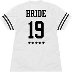 Personalized All Star Bride Jersey Just Engaged, Just Married, Irish Beach, Sports Bars, Sports Jerseys, Crew Shop, Bachelorette Parties, Team Bride