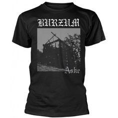Tricou Burzum: Aske Metalhead, Suits, Mens Tops, T Shirt, Black, Fashion, Supreme T Shirt, Moda, Tee