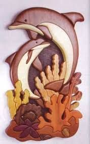 intarsia wood … intarsia wood More Wood Carving Designs, Wood Carving Patterns, Wood Carving Art, Wood Carvings, Intarsia Woodworking, Woodworking Patterns, Woodworking Projects, Teds Woodworking, Wooden Art