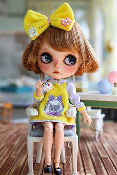 IMG_7504 | by ❤juju99 Pretty Dolls, Beautiful Dolls, Dream Doll, Cute Cartoon Wallpapers, Little Doll, Doll Repaint, Creepy, Custom Dolls, Ball Jointed Dolls