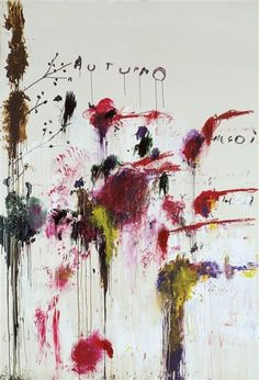 Cy Twombly Art, Cy Twombly Paintings, Art And Illustration, Illustrations, Character Illustration, Art Amour, Blog Art, Willem De Kooning, Ouvrages D'art