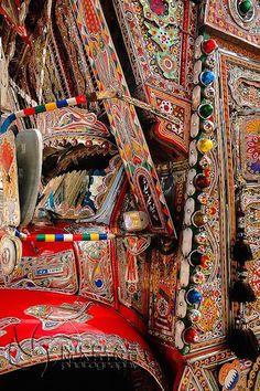 Jingle Truck side panel detail
