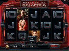 Spelautomaten Battlestar Galactica - Spelautomaten Battlestar Galactica är baser på serien med samma namn som tidigare har gått på TV. Galactica är ett rymdskepp som är ute i rymden, med målet att hitta en ny planet åt mänskligheten....http://www.gratis-slot.com/spel/spelautomaten-battlestar-galactica