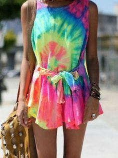 Batik - short - dress - summer - girl  LOVE!